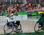 Tyler Miller, Rio 2016 - Wheelchair Basketball // Basketball en fauteuil roulant.<br /> The Canadian men's wheelchair basketball team face Australia in the preliminary rounds // L'équipe canadienne masculine de basketball en fauteuil roulant affrontera l'Australie en ronde préliminaire. 10/09/2016.