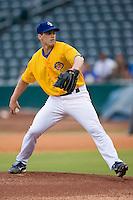 Starting pitcher B.J. LaMura (18) of the Jacksonville Suns in action at the Baseball Grounds in Jacksonville, FL, Wednesday June 11, 2008.