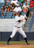May 14, 2010: Outfielder Neil Medchill of the Tampa Yankees during a game at George M Steinbrenner Field in Tampa, FL. Tampa is the Florida State League High Class-A affiliate of the New York Yankees. Photo By Mark LoMoglio/Four Seam Images