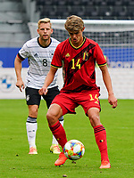 Belgium's Charles De Ketelaere (14) in action during a soccer game between the national teams Under21 Youth teams of Belgium and Germany on the 5th matday in group 9 for the qualification for the Under 21 EURO 2021 , on tuesday 8 th of September 2020  in Leuven , Belgium . PHOTO SPORTPIX.BE | SPP | SEVIL OKTEM