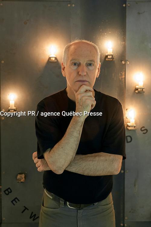Canada, Montréal, l'artiste sculpteur Andre Fournelle dans son atelier en 2007 <br /> PHOTO :  Agence Quebec presse