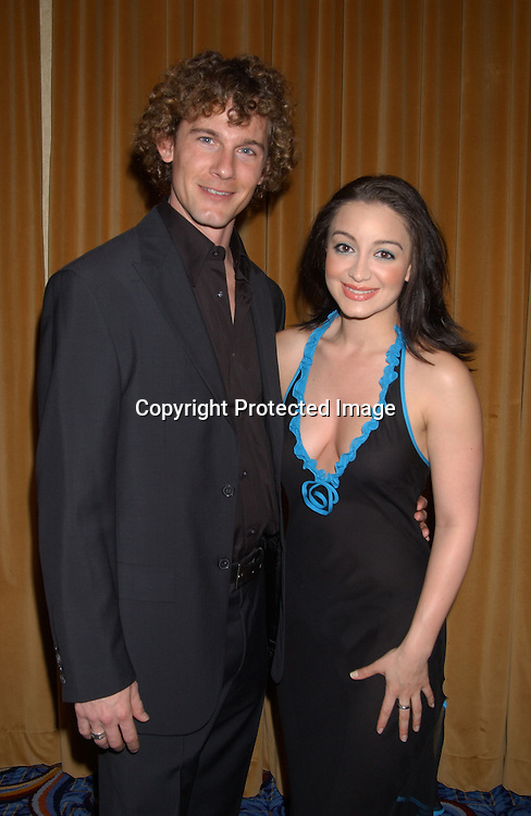 Shanelle Workman & boyfriend Marc Fearney at the 30th Annual Creative Craft Daytime EmmyAwards on May 10,2003 at the Marriott.Marquis in NYc..Photo by Robin Platzer, Twin Images.