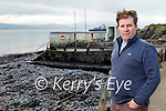 Mick O'Neill of the Fenit Community Development Group who has received planning permission to reinstate the Diving Boards at Fenit.
