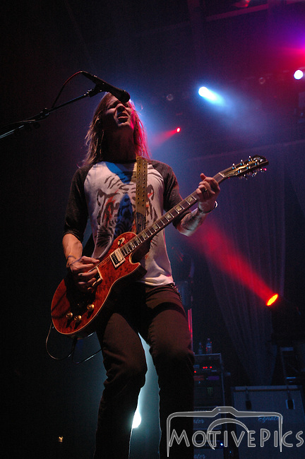 Rock band, CAVO, playing The Pageant in St. Louis, MO November of 2010.