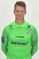 14th October 2020, Montpellier, France; Official League 1 player portraits for Montpellier FC;  1. Jonas OMLIN
