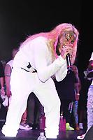 MIAMI, FL -MAY 1: 6ix9ine at Trillerfest Miami at Miami Marine Stadium on May 1, 2021. Credit: Walik Goshorn/MediaPunch