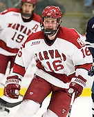 Alex Fallstrom (Harvard - 16) - The Harvard University Crimson defeated the visiting Yale University Bulldogs 8-2 in the third game of their ECAC Quarterfinal matchup on Sunday, March 11, 2012, at Bright Hockey Center in Cambridge, Massachusetts.