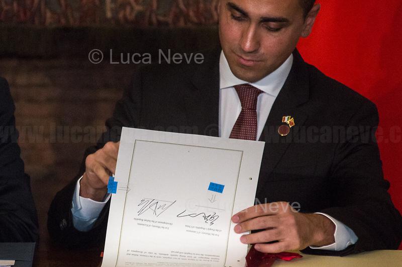 Luigi Di Maio, Politician.