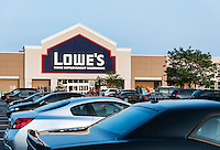 Lowe's home improvement superstore.