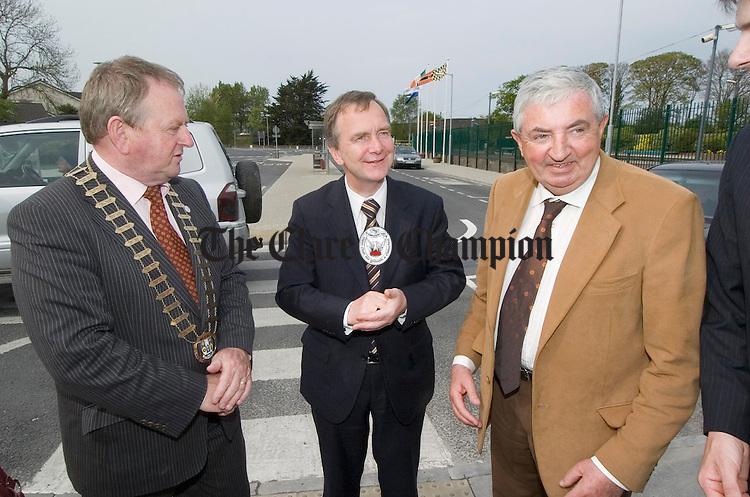 Flan Garvey, Martin Cullen and Brendan Daly