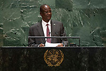 General Assembly Seventy-fourth session, 7th plenary meeting<br /> <br /> <br /> His Excellency Taban Deng Gai, First Vice-President, Republic of South Sudan