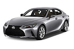 2021 Lexus IS 300 4 Door Sedan Angular Front automotive stock photos of front three quarter view
