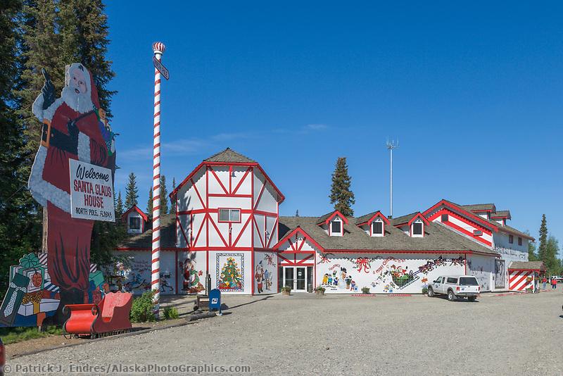 Santa Claus House North Pole Alaskaphotographics Com