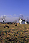 Henry Hill, Manassas National Battlefield Park, Virginia, USA, where the two armies engaged for the first time in the Civil War, costing nearly 900 lives. They met here again in August 1862, resulting in 3,300 soldiers killed.