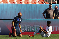 DENVER, CO - JUNE 3: John Brooks #6 of the United States during a game between Honduras and USMNT at Empower Field at Mile High on June 3, 2021 in Denver, Colorado.