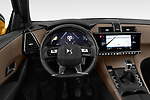 Car pictures of steering wheel view of a 2018 DS DS7 Crossback Be Chic 5 Door SUV