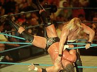 Chris Jericho Triple H 1997                                                        Photo By John Barrett/PHOTOlink