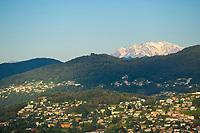 Monte Rosa and Malcantone, Ticino, Switzerland, September 2014.