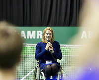 Februari 13, 2015, Netherlands, Rotterdam, Ahoy, ABN AMRO World Tennis Tournament, Esther Vergeer (NED)<br /> Photo: Tennisimages/Henk Koster