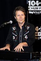 Toronto (ON), December 14, 2007 - Band Blue Rodeo, Jim Cuddy, performs at CHUM FM's  Annual Christmas Wish Live Broadcast at Sutten Place Hotel in Toronto.