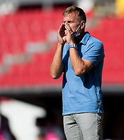GUADALAJARA, MEXICO - MARCH 18: Jason Kreis head coach of the United States during a game between Costa Rica and USMNT U-23 at Estadio Jalisco on March 18, 2021 in Guadalajara, Mexico.