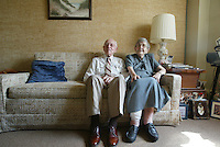 Paul and Marion Scribner will celebrate their 75th wedding anniversary in Charlottesville, Va. senior elderly