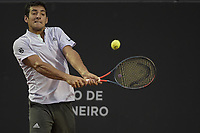 Rio de Janeiro (RJ), 23/02/2020 - Rio Open 2020 - Gianluca Mager (ITA) durante partida contra o tenista Cristian Garin (CHI), no Rio Open 2020, etapa ATP 500 do circuito mundial de Tenis, no Jockey Club Brasileiro no Rio de Janeiro (RJ), nesta domingo (23). (Foto: Andre Fabiano/Codigo 19/Codigo 19)