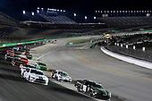 #18: Riley Herbst, Joe Gibbs Racing, Toyota Supra Monster Energy, #98: Chase Briscoe, Stewart-Haas Racing, Ford Mustang Ford Performance Racing School
