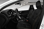 Front seat view of 2017 Volvo V40-Cross-Country - 5 Door Wagon Front Seat  car photos