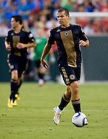 Alejandro Moreno. Manchester United defeated Philadelphia Union, 1-0.