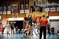 13-03-2021: Basketbal: Keijser Capital Martini Sparks v Grasshoppers: Haren score van Grasshoppers speelster Marieke van Schie