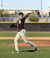 Blake Snell - San Diego Padres 2021 spring training (Bill Mitchell)