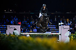 Reed Kessler of the USA riding Tradition de la Roque competes in the Longines Grand Prix of Hong Kong during the Longines Masters of Hong Kong at AsiaWorld-Expo on 11 February 2018, in Hong Kong, Hong Kong. Photo by Zhenbin Zhong / Power Sport Images
