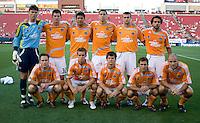 Houston Dynamo Starting XI. Houston Dynamo vs FC Dallas at Pizza Hut Park in Frisco, Texas May-28-2008. Final Score 2-2