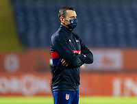 BREDA, NETHERLANDS - NOVEMBER 27: Vlatko Andonovski of the USWNT watches his team during a game between Netherlands and USWNT at Rat Verlegh Stadion on November 27, 2020 in Breda, Netherlands.