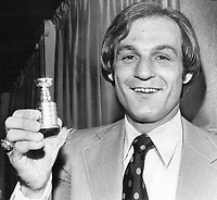 1978<br />  FILE PHOTO - ARCHIVES -<br /> <br /> Guy Lafleur's empty-net goal keeps scoring streak alive<br /> <br /> 1978<br /> <br /> PHOTO : Doug Griffin  - Toronto Star Archives - AQP