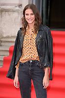 "Charlotte Wiggins<br /> arriving for the premiere of ""The Wife"" at Somerset House, London<br /> <br /> ©Ash Knotek  D3418  09/08/2018"