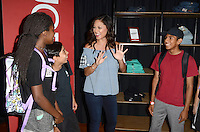 LOS ANGELES - AUG 3:  Vanessa Lachey, event guests at the JCPenney Back-to-School Community Event at the YMCA Hollywood on August 3, 2016 in Los Angeles, CA