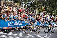 Remco Evenepoel (BEL/Deceuninck-Quick Step)<br /> <br /> Men Elite – Road Race (WC)<br /> Race from Antwerp to Leuven (268.3km)<br /> <br /> ©kramon