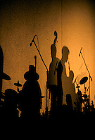 Concert shadows.