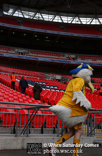 Torquay United 2 Cambridge United 0, 17/05/2009. Wembley Stadium, Conference Play Off Final. The Torquay mascot. Torquay United returned to the Football League after two years away following victory at Wembley. Photo by Simon Gill.