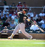 Yonder Alonso - Oakland Athletics 2016 spring training (Bill Mitchell)