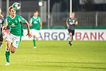 12.09.2020, Ernst-Abbe-Sportfeld, Jena, GER, DFB-Pokal, 1. Runde, FC Carl Zeiss Jena vs SV Werder Bremen<br /> <br /> <br /> Joshua Sargent (Werder Bremen #19)<br /> Einzelaktion, Ganzkörper / Ganzkoerper <br /> <br /> <br /> Foto © nordphoto / Kokenge