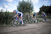 Niki Terpstra (NED/Direct Energie) riding a off-road sector<br /> <br /> Antwerp Port Epic 2019 <br /> One Day Race: Antwerp > Antwerp 187km<br /> <br /> ©kramon