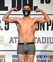 DALLAS, TX - DECEMBER 4: Josesito Lopez attends the weigh-in for the Errol Spence Jr. vs Danny Garcia December 5, 2020 Fox Sports PBC Pay-Per-View fight night at AT&T Stadium in Arlington, Texas. (Photo by Frank Micelotta/Fox Sports)