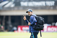 V for India Victory? during a training session ahead of the ICC World Test Championship Final at the Hampshire Bowl on 17th June 2021