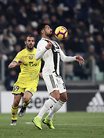 Calcio, Serie A: Juventus - Chievo Verona, Turin, Allianz Stadium, January 21, 2019.<br /> Juventus' Emre Can in action during the Italian Serie A football match between Juventus and Chievo Verona at Torino's Allianz stadium, January 21, 2019.<br /> UPDATE IMAGES PRESS/Isabella Bonotto