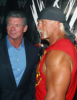 Wrestlemania XIX Press Conference  Vince McMahon Hulk Hogan 2003                                                                          By John Barrett/PHOTOlink