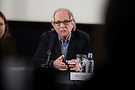 British director Ken Loach during a discussion at Spanish Film Academy in Madrid, Spain. February 03, 2017. (ALTERPHOTOS/BorjaB.Hojas)