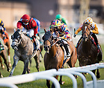 The Lir Jet (Prince of Lir) wins the Irish Thoroughbred Marketing Franklin-simpson stakes (G2) at Kentucky Downs on 9.11.21. Tyler Gaffalione up, Brendan Walsh trainer, Qatar Racing and Racehorse Club owners.